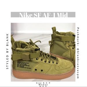 NEW Nike SF AF-1 Mid Urban Utility Sneaker Boot